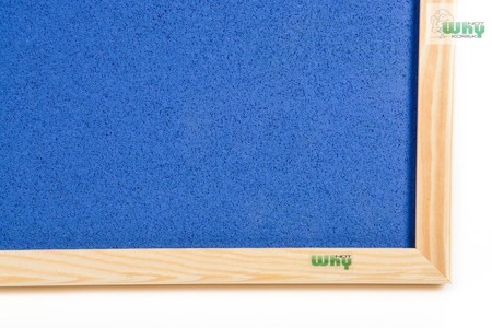Tablica korkowa barwiona w ramie drewnianej 120x200 cm