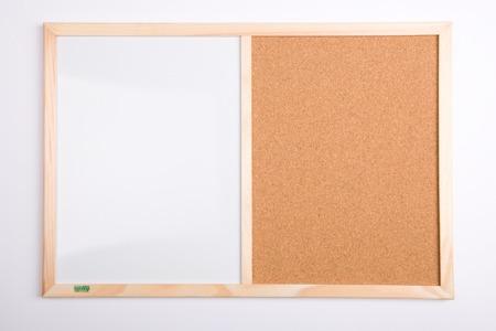 Tablica korkowa i magnetyczna 40x60 DUO sosnowa