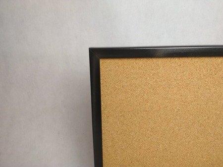 Tablica korkowa w KOLOROWEJ ramie drewnianej 60x90 cm NOWOŚĆ!!!!!