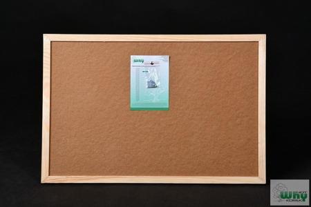 Tablica korkowa w ramie drewnianej  120x200 cm