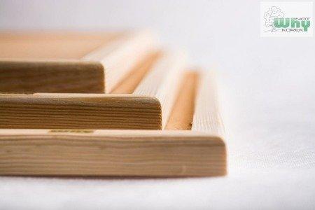 Tablica korkowa w ramie drewnianej 40x40 cm