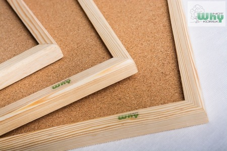 Tablica korkowa w ramie drewnianej 70x100 cm