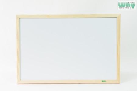 Tablica magnetyczno-suchościeralna w ramie drewnianej 50x70 cm