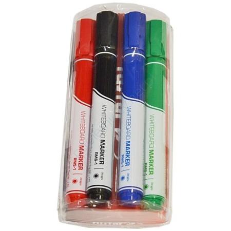 Zestaw 4 kolory marker suchościeralny Rystor